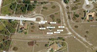 26205 Bage Drive, Punta Gorda, FL 33983 - MLS#: N6101083