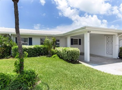 857 White Cap Circle UNIT 20, Venice, FL 34285 - MLS#: N6101324