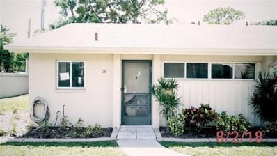 2772 Woodgate Lane UNIT 28, Sarasota, FL 34231 - MLS#: N6101433