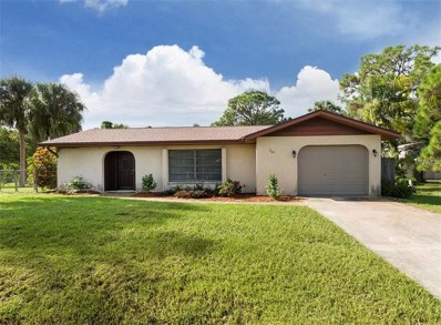 341 Shell Road, Venice, FL 34293 - MLS#: N6101918