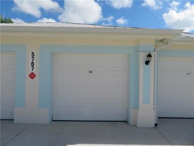 5767 Sabal Trace Drive UNIT 104, North Port, FL 34287 - MLS#: N6102380