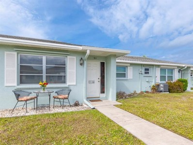 1019 Beach Manor Circle UNIT 51, Venice, FL 34285 - MLS#: N6102869
