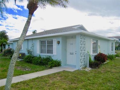 210 Beach Manor Lane UNIT 21, Venice, FL 34285 - MLS#: N6103226