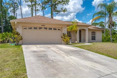 4861 Weatherton Street, North Port, FL 34288 - MLS#: N6105420