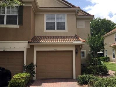 3602 Shallot Drive UNIT 106, Orlando, FL 32835 - MLS#: O5512291