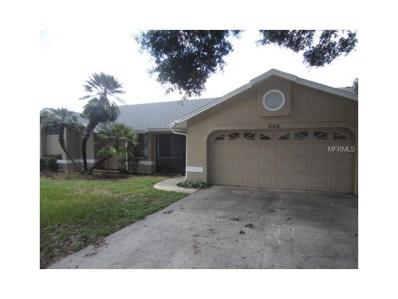 549 Lake Doe Boulevard, Apopka, FL 32703 - MLS#: O5527893
