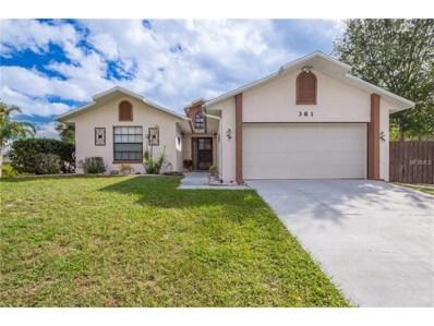 381 Dorset Avenue, Deltona, FL 32738 - MLS#: O5545449