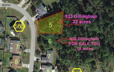 933 Gillingham Court, Kissimmee, FL 34758 - MLS#: O5553798