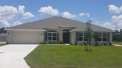 503 W Leah Court, Fruitland Park, FL 34731 - MLS#: O5701606