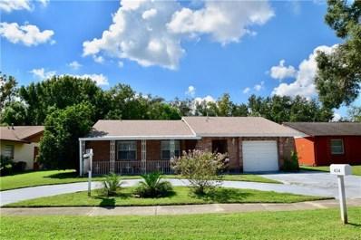 434 S Alderwood Street, Winter Springs, FL 32708 - MLS#: O5706134