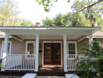 43 E Harvard Street, Orlando, FL 32804 - MLS#: O5708126