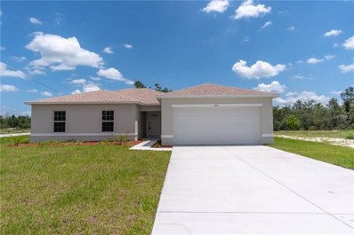 100 Sweet Pea Court, Poinciana, FL 34759 - MLS#: O5710944