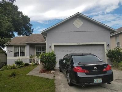 825 Hilly Bend Drive, Apopka, FL 32712 - MLS#: O5711984