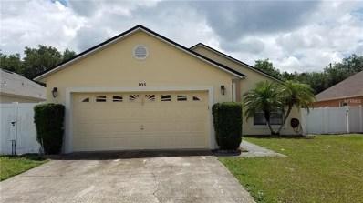 105 Paprika Place, Kissimmee, FL 34758 - MLS#: O5719430