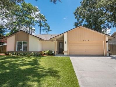 149 Clyde Avenue, Longwood, FL 32750 - MLS#: O5724125