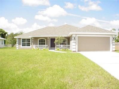 805 Chestnut Drive, Fruitland Park, FL 34731 - MLS#: O5729113
