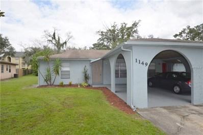 1149 Rich Moor Circle, Orlando, FL 32807 - MLS#: O5730489