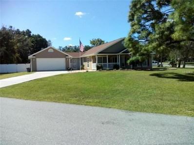 11135 Captain Drive, Spring Hill, FL 34608 - MLS#: O5745596