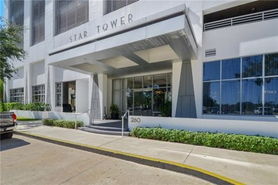 260 S Osceola Avenue UNIT 607, Orlando, FL 32801 - MLS#: O5757230