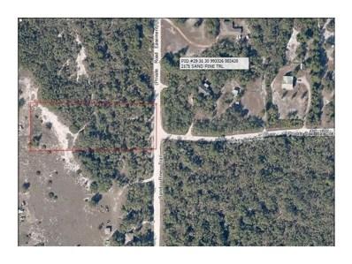 2218 Sand Pine Trail, Frostproof, FL 33843 - MLS#: P4716912