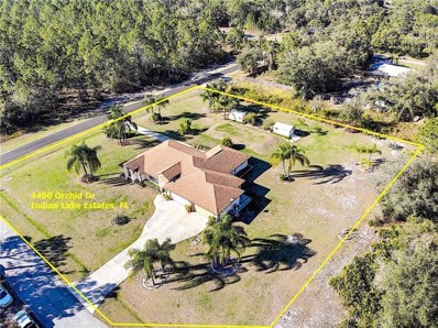4450 Orchid Drive, Indian Lake Estates, FL 33855 - MLS#: P4904227