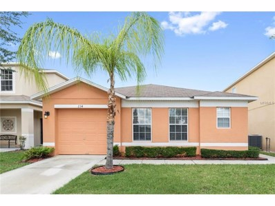 234 Earlmont Place, Davenport, FL 33896 - MLS#: S4847544