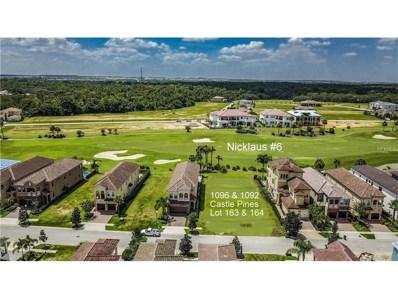 1096 Castle Pines Court, Reunion, FL 34747 - MLS#: S4849683