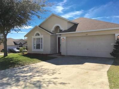 103 Elderberry Drive, Davenport, FL 33897 - MLS#: S4851145