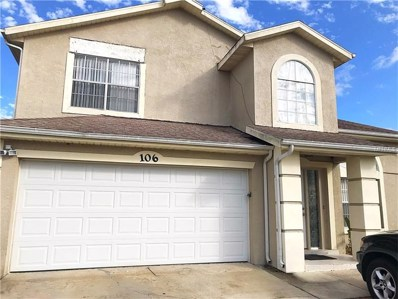 106 Blue Springs Court, Kissimmee, FL 34743 - MLS#: S4852720