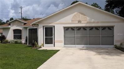 173 Sparrow Court, Poinciana, FL 34759 - MLS#: S5006801