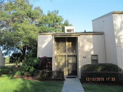 44 Aspen Drive UNIT 44, Haines City, FL 33844 - MLS#: S5011385