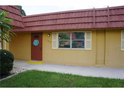 202 Bedford Trail UNIT E108, Sun City Center, FL 33573 - MLS#: T2893257