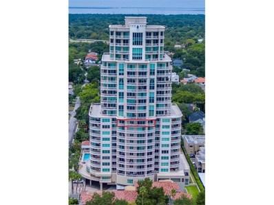 3507 Bayshore Boulevard UNIT 1102, Tampa, FL 33629 - MLS#: T2904131