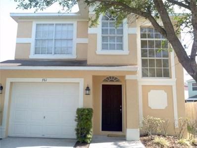 761 Burlwood Street, Brandon, FL 33511 - MLS#: T2906734