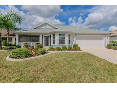 2332 Emerald Lake Drive, Sun City Center, FL 33573 - MLS#: T2907869