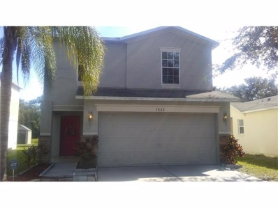 7842 Carriage Pointe Drive, Gibsonton, FL 33534 - MLS#: T2909974
