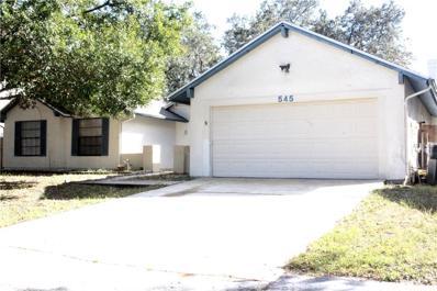 545 Emberwood Drive, Brandon, FL 33511 - MLS#: T2912029
