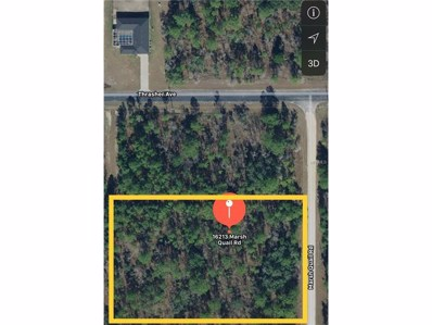 16213 Marsh Quail Road, Weeki Wachee, FL 34614 - MLS#: T2913482