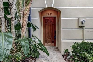 2221 Soho Bay Court, Tampa, FL 33606 - MLS#: T2919464