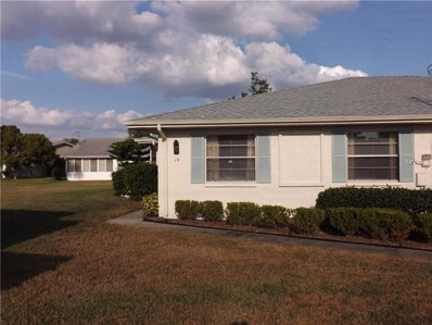 1903 Canterbury Lane UNIT B19, Sun City Center, FL 33573 - MLS#: T2919648