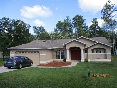 12070 Pine Warbler Avenue, Weeki Wachee, FL 34614 - MLS#: T2920363