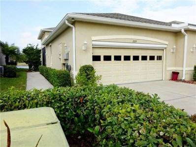 2219 Oakley Green Drive UNIT 37, Sun City Center, FL 33573 - MLS#: T2924009