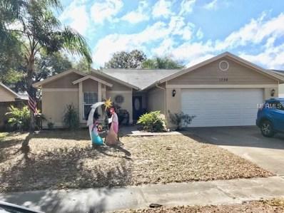 1724 Spinning Wheel Drive, Lutz, FL 33559 - MLS#: T2925194