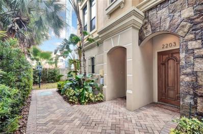 2203 Soho Bay Court, Tampa, FL 33606 - MLS#: T2926131