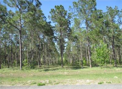 Lot 62 Pony Pond Rd. Road, Dade City, FL 33523 - MLS#: T2928940