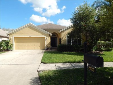 2420 Amberside Way, Wesley Chapel, FL 33544 - MLS#: T2929486