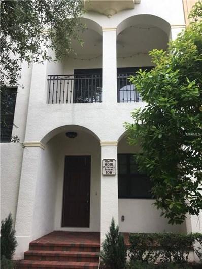 6001 Printery Street UNIT 106, Tampa, FL 33616 - MLS#: T3100163