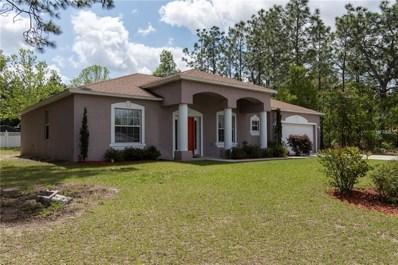 9061 N Marcus Way, Citrus Springs, FL 34433 - MLS#: T3101647