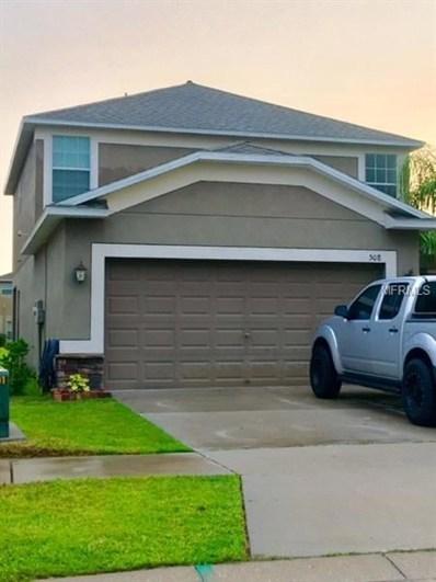 508 Laguna Mill Drive, Ruskin, FL 33570 - MLS#: T3103537
