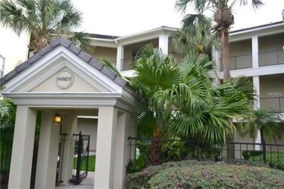 14929 Arbor Springs Circle UNIT 106, Tampa, FL 33624 - MLS#: T3109776